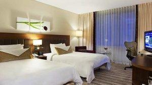 Two Beds Evolution Room